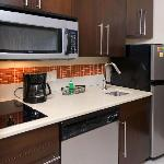 Kitchenette in all Suites