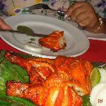 Tandoori chiken