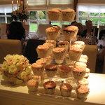 Mmm...cupcake tower!