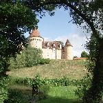 The chateau as seen from the grounds