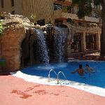 piscine cascade