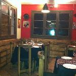 a cozy corner of Triana Restaurant