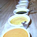 The famous dipping sauces