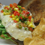 Cajun Chicken Sandwich - Down-home style with pepperjack cheese, arugula, pico de gallo salsa,
