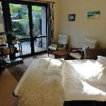 Living area in the Garden Suite