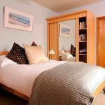 The Minack bedroom