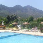 More mountain views from the pool
