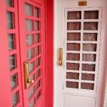 Doors to rooms