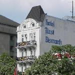Hotel Furst Bismarck - View from across the street
