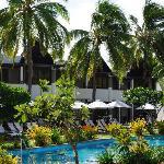 sheraton villa piscine