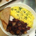 breakfast plate :)