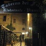 Entrance to Taverna dei Frati