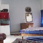 1-7 places room with air-conditionned, fridge, television, private terrassy