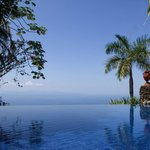 Villa Caletas Infinity Pool view