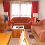 Wohnzimmer unserer Suiten