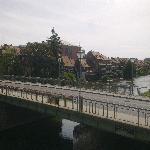 Blick vom Zimmer auf Klein Venedig