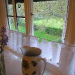 View out of Bossington Room