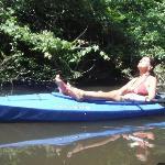 Relaxing on Spruce Creek!