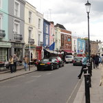 main street in Notting Hill
