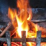 Real open fire places