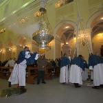 lancio del botafumero santuario San Francesco