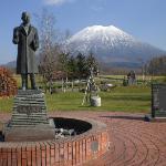 有島記念館から観た羊蹄山1