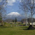 有島記念館から観た羊蹄山2