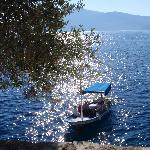 Water taxi from Mahla to Kalkan harbour
