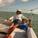 Sailing in Florida Bay