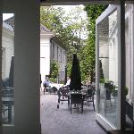 the lovely patio