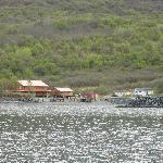 Kodiak Island Resort, taken from the fishing boat