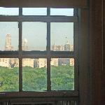 Bedroom window with view to Central Park
