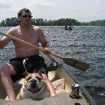 Honey in the canoe