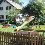 Playground behind hotel