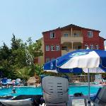 swimming pool and hotel