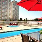 Enjoy our heated outdoor pool, whirlpool and unique children's pool.