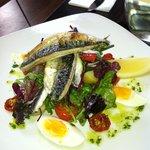 Mackeral Nicsoise Salad