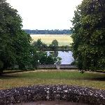 View from the back of the house onto the river (Loire?)