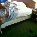 Broken bed 1