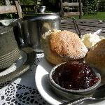 You just can't beat a Devon cream tea by the river