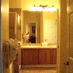 1 BR Suite Bath w/garden tub, sm shower & double sink