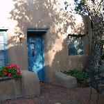 Massive adobe estate built in 1860- well preserved and authentically reflective of New Mexico.