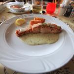 Main dish - Salmon