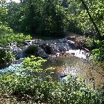 Waterfalls in Platt Historic District