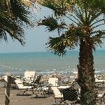 vue terrasse plage