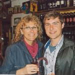 Venice pub with Mario