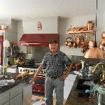 David in the kitchen where the magic happens