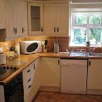 Big clean modern kitchen