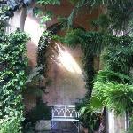 inside the orangery
