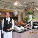 The restaurant staff